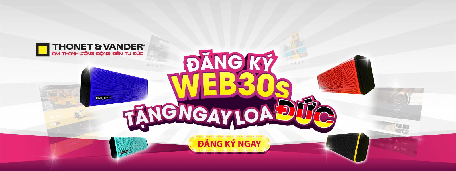 Đăng Ký Web30s Tặng Ngay Loa Đức